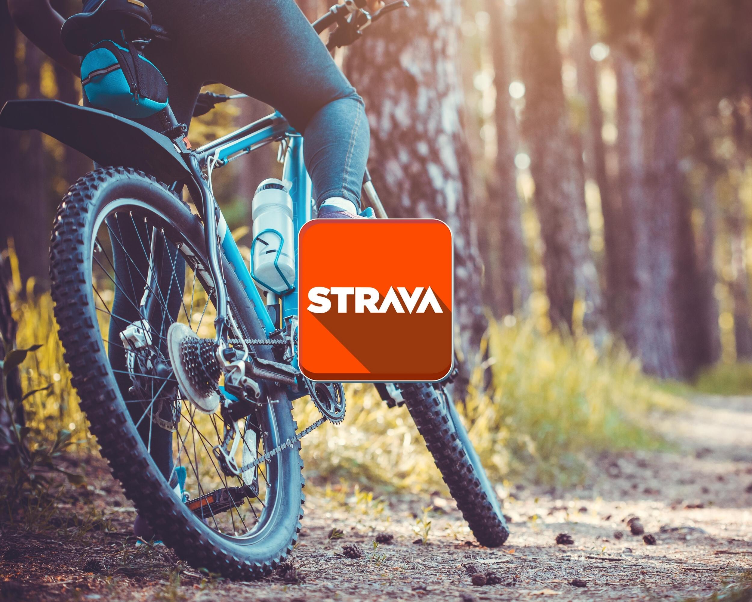 Strava på sykkeltur